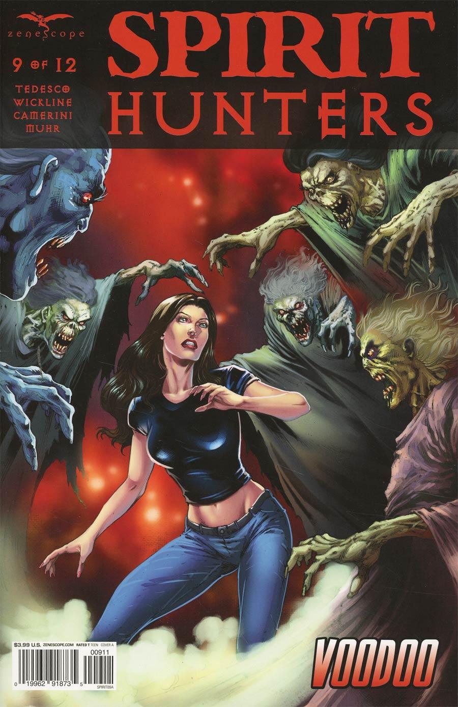 Spirit Hunters #9 Cover A Jose Luis