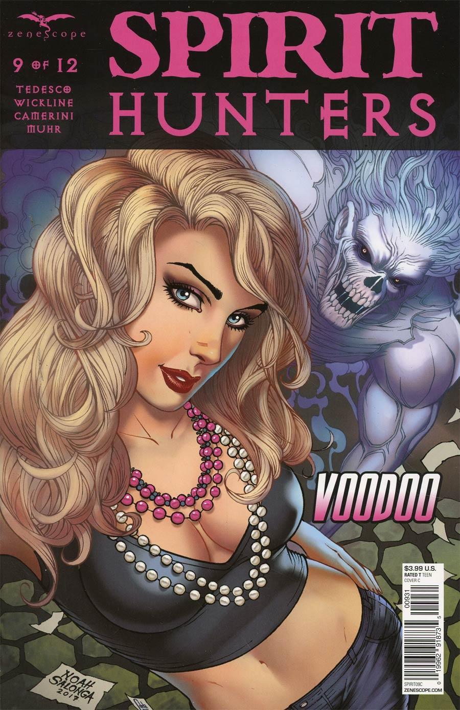Spirit Hunters #9 Cover C Noah Salonga