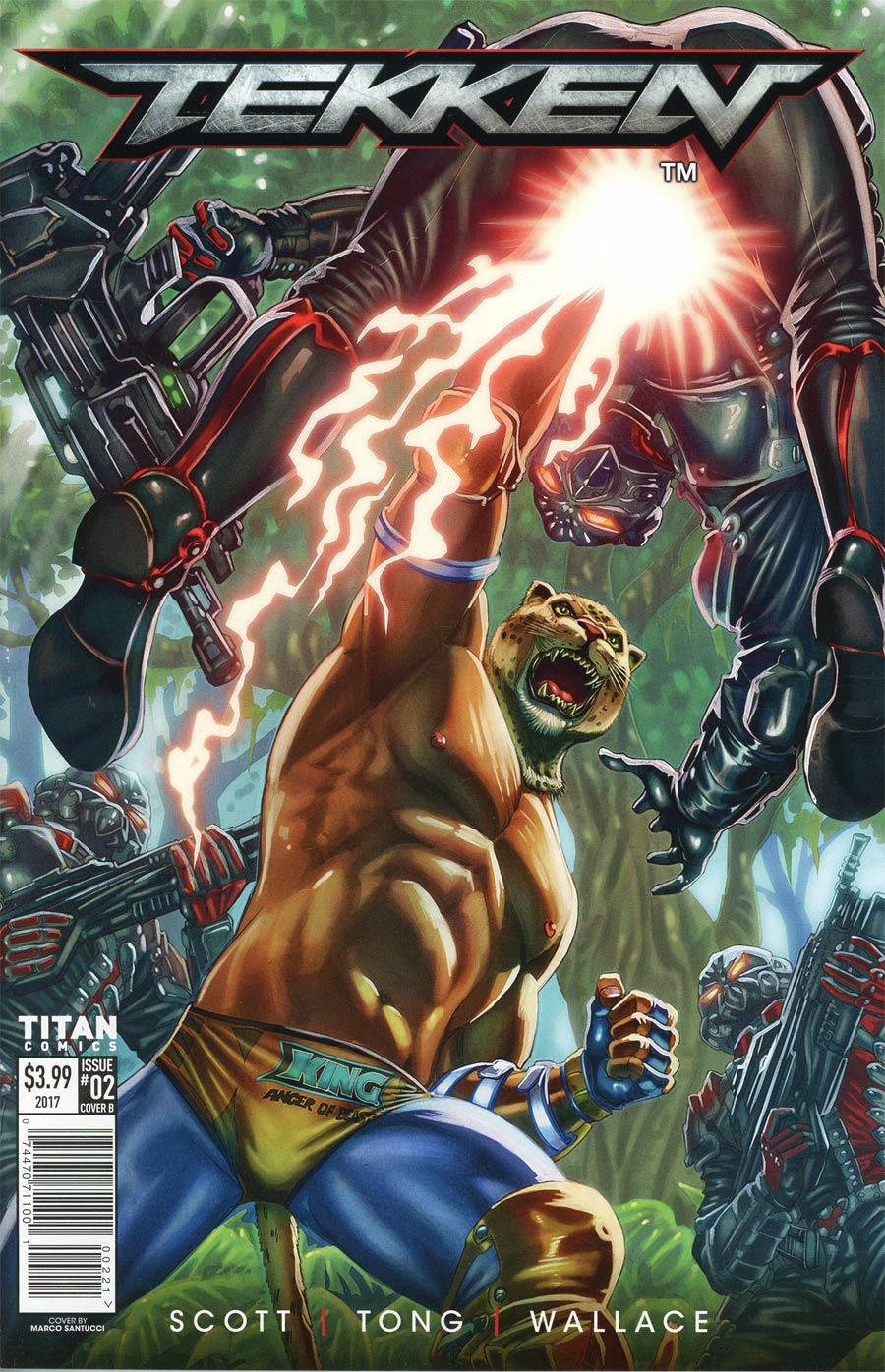 Tekken #2 Cover B Variant Marco Santucci Cover