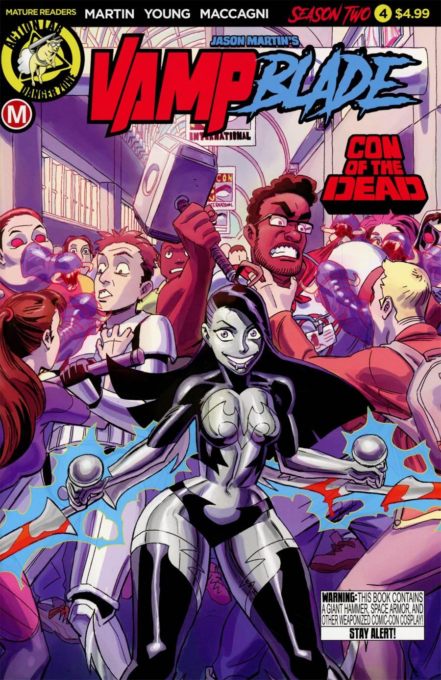 Vampblade Season 2 #4 Cover A Regular Winston Young Cover