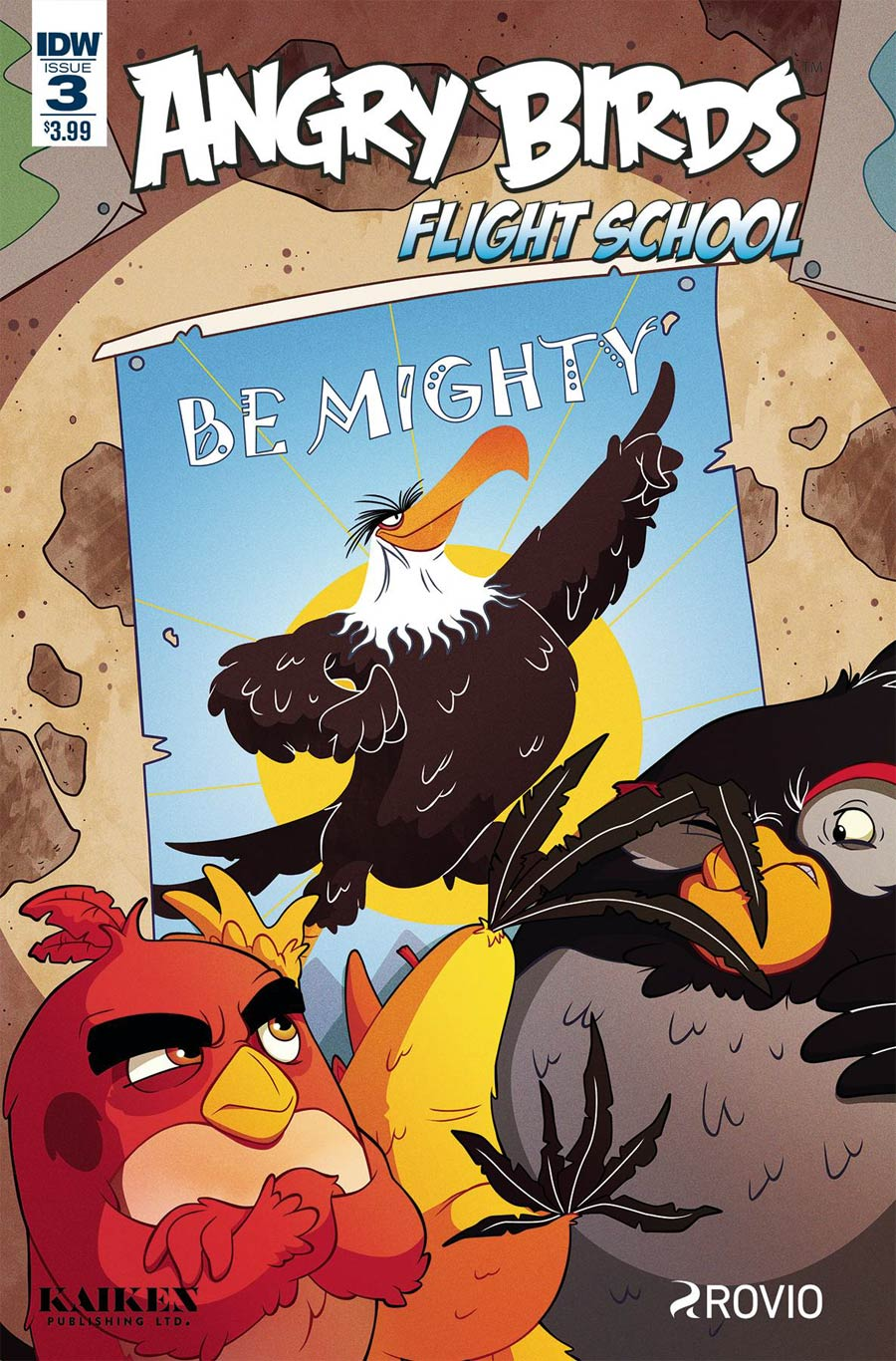 Angry Birds Flight School #3 Cover A Regular Philip Murphy Cover