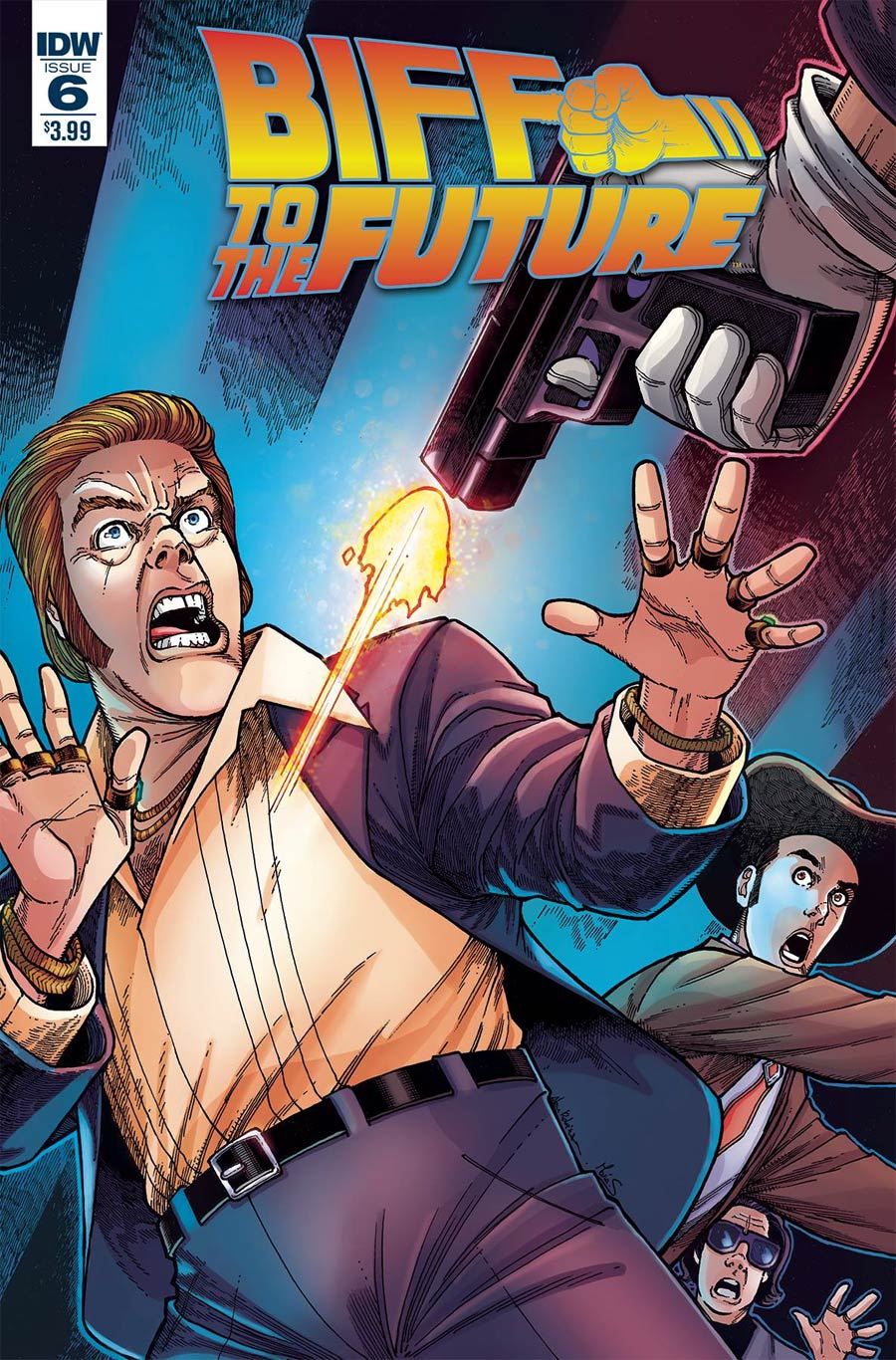 Back To The Future Biff To The Future #6 Cover A Regular Alan Robinson Cover