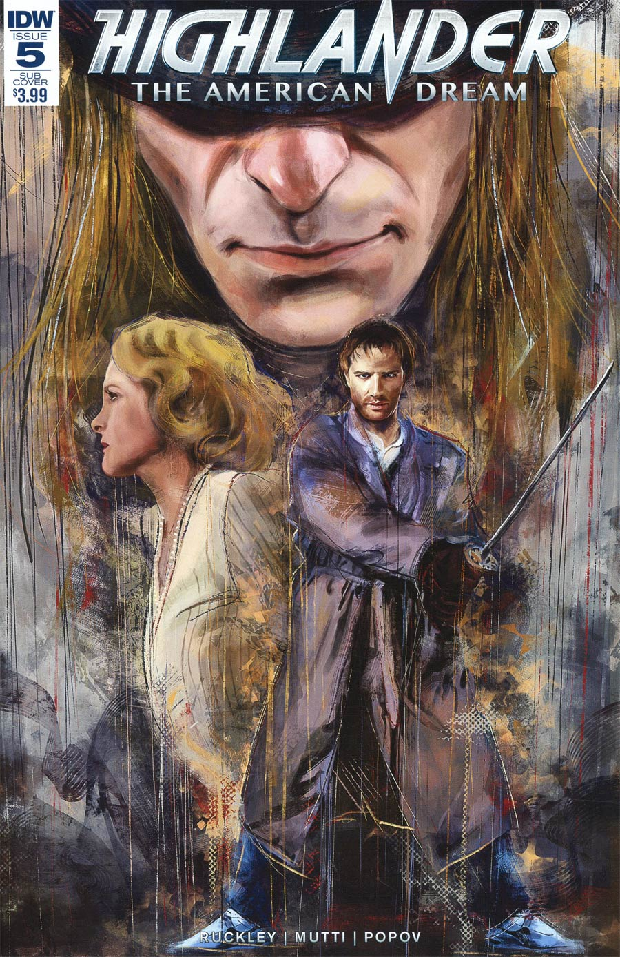 Highlander American Dream #5 Cover B Variant Claudia Gironi Subscription Cover