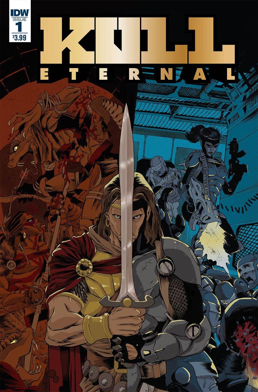 Kull Eternal #1 Cover A Regular Luca Pizzari Cover
