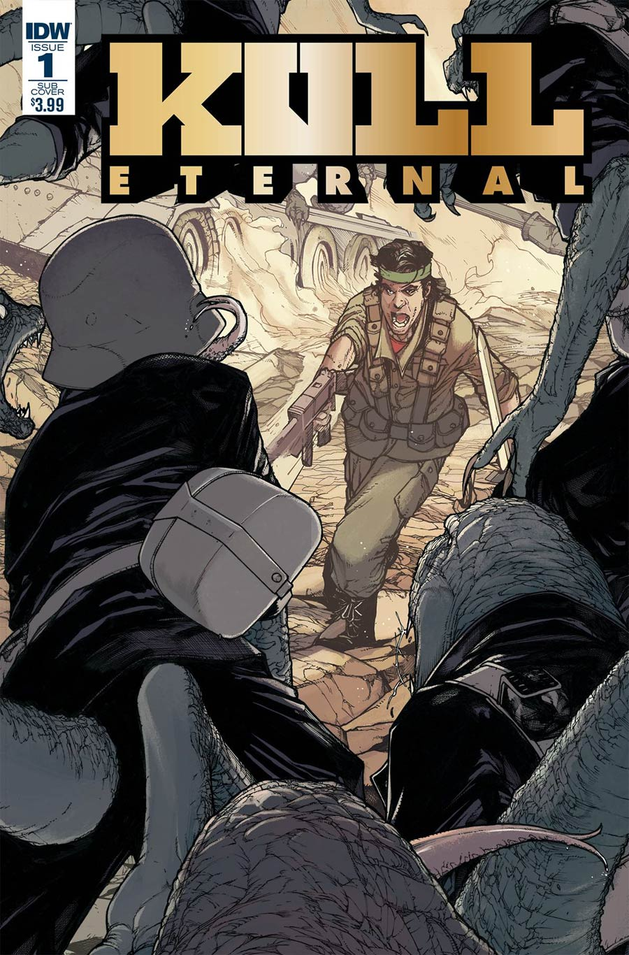 Kull Eternal #1 Cover B Variant Alex Sanchez Subscription Cover