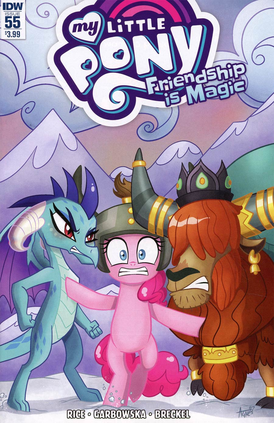 My Little Pony Friendship Is Magic #55 Cover A Regular Agnes Garbowska Cover
