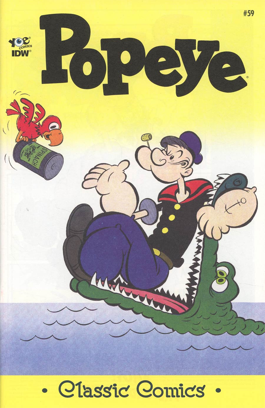 Classic Popeye #59 Cover A Regular Bud Sagendorf Cover