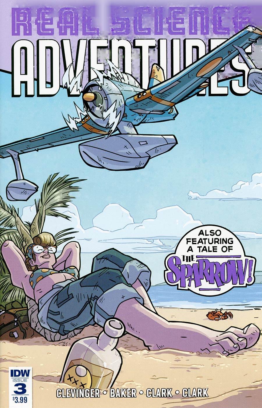Atomic Robo Presents Real Science Adventures #3 Cover A Regular Scott Wegener Cover