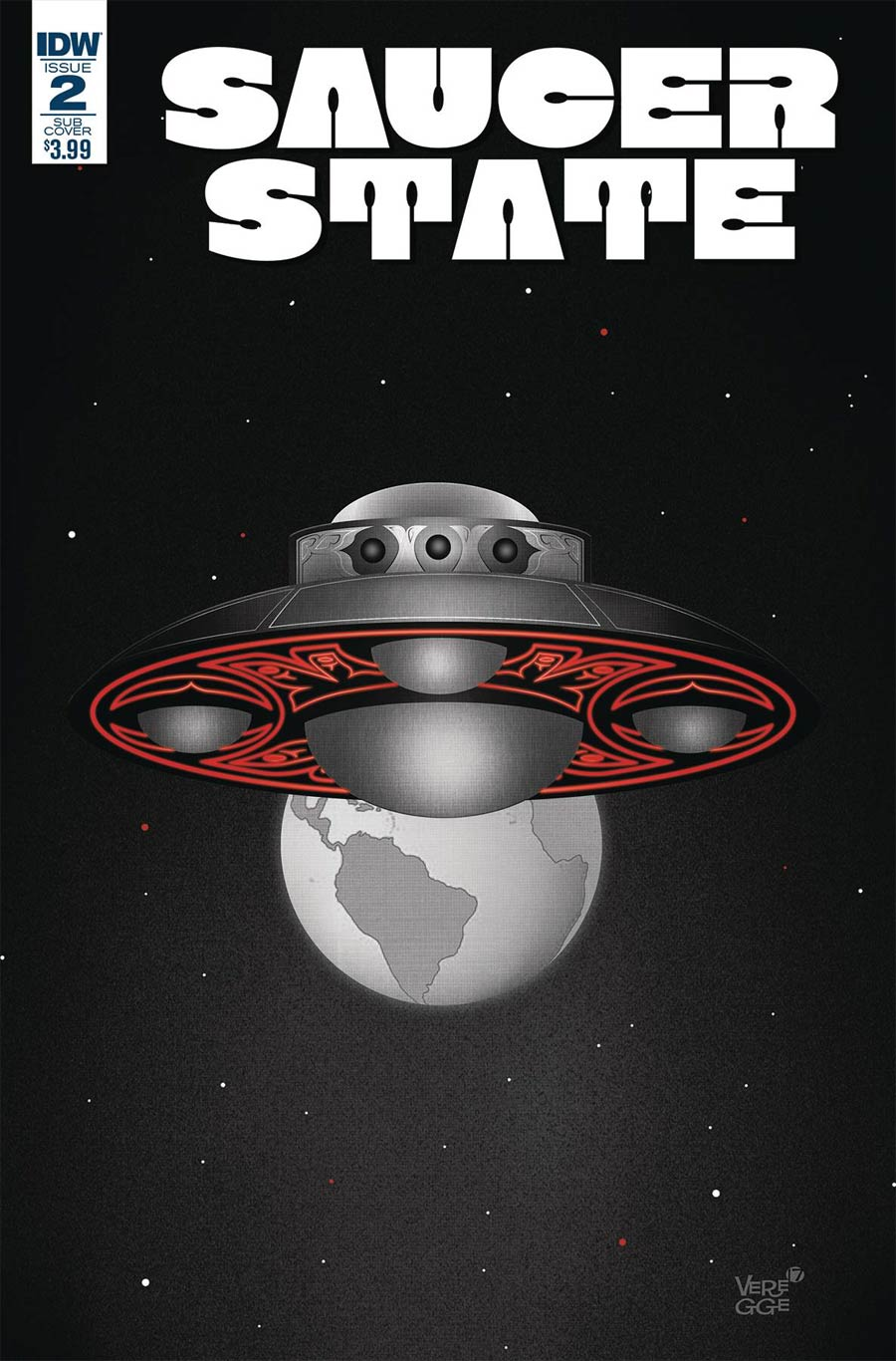 Saucer State #2 Cover B Variant Jeffrey Veregge Subscription Cover