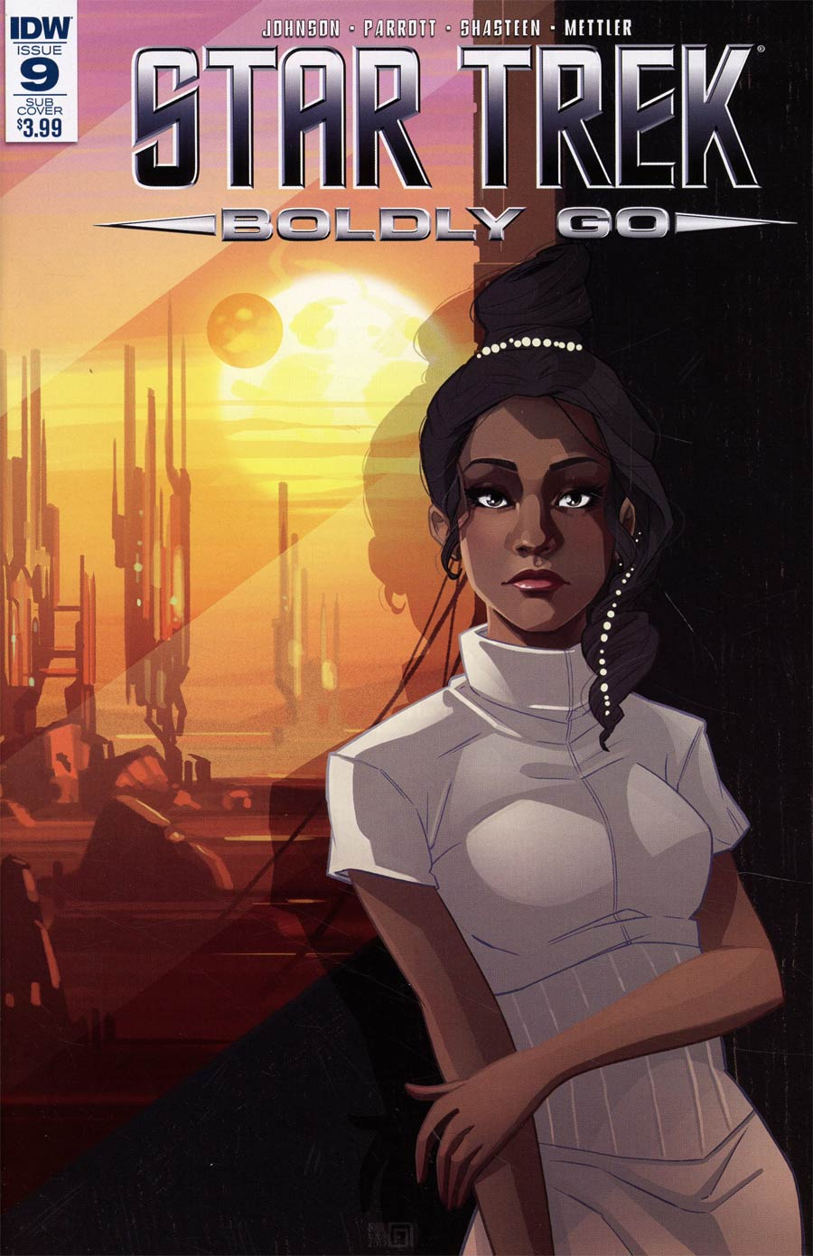 Star Trek Boldly Go #9 Cover B Variant Arianna Florean Subscription Cover