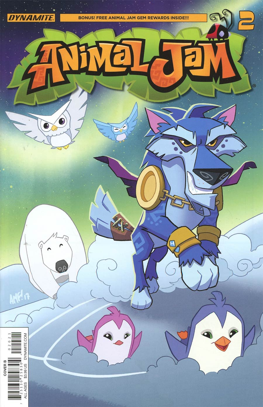 Animal Jam #2 Cover B Variant Tony Fleecs Cover
