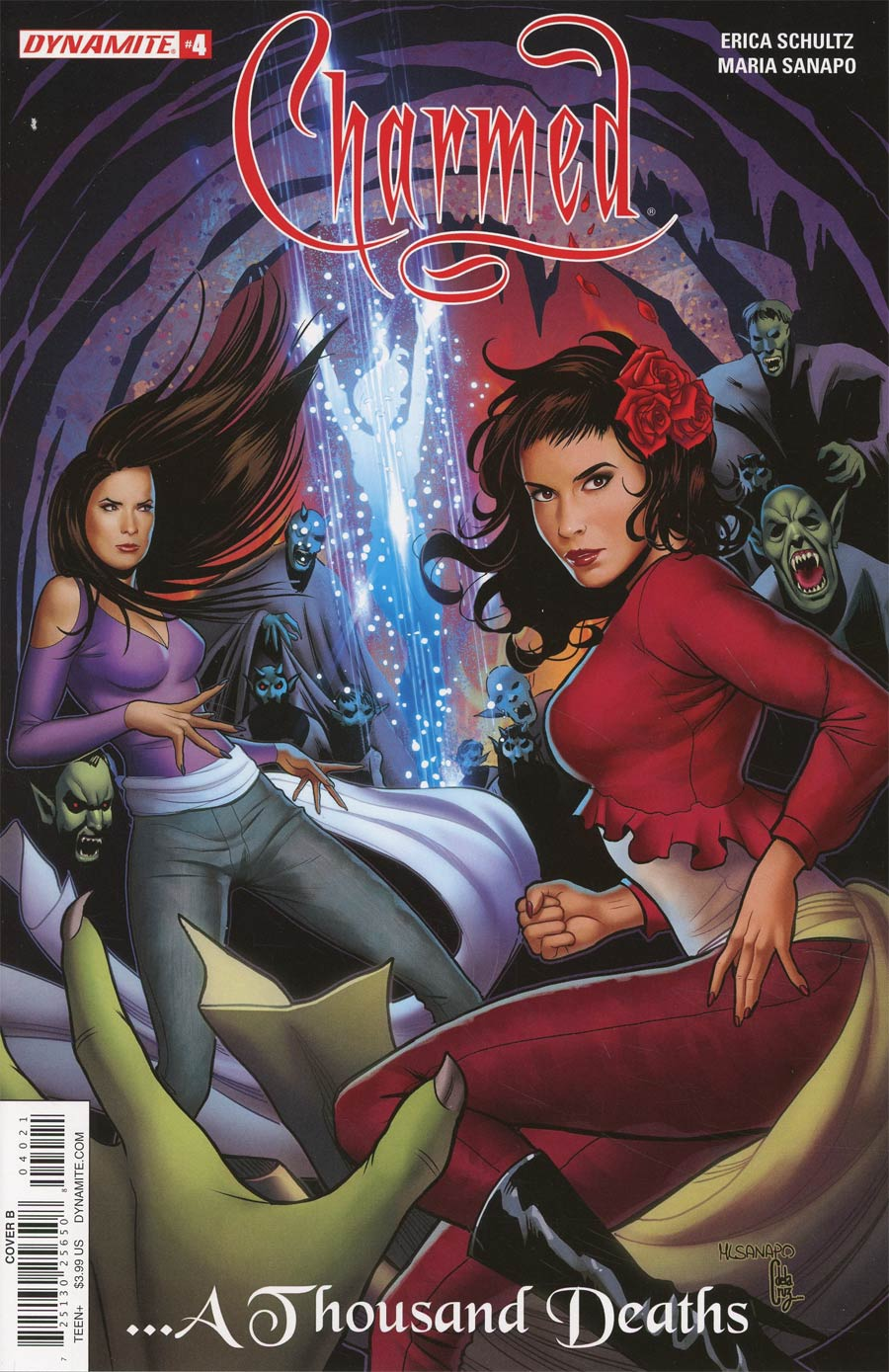 Charmed Vol 2 #4 Cover B Variant Maria Sanapo Cover