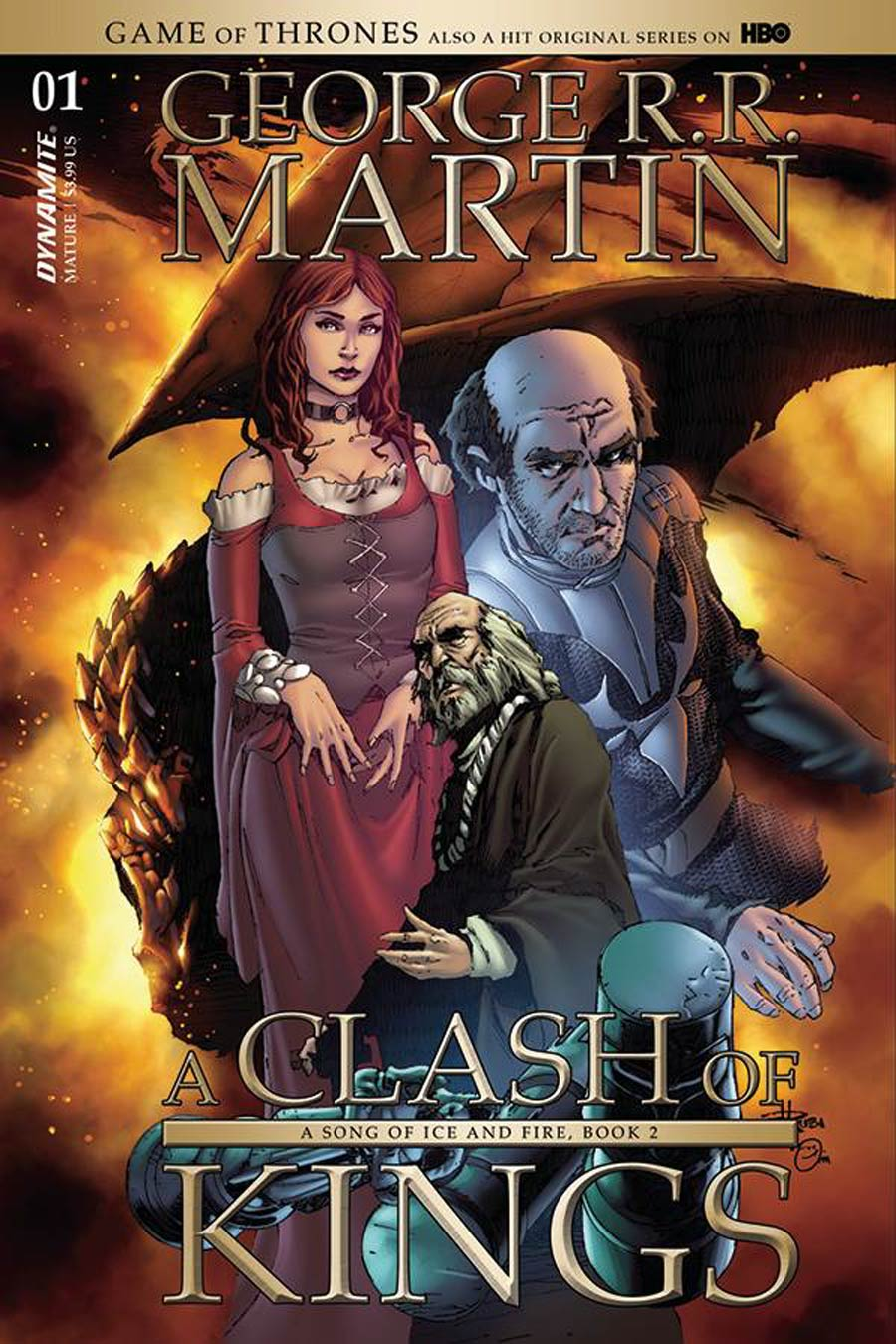 Game Of Thrones Clash Of Kings #1 Cover D Variant Mel Rubi Subscription Cover