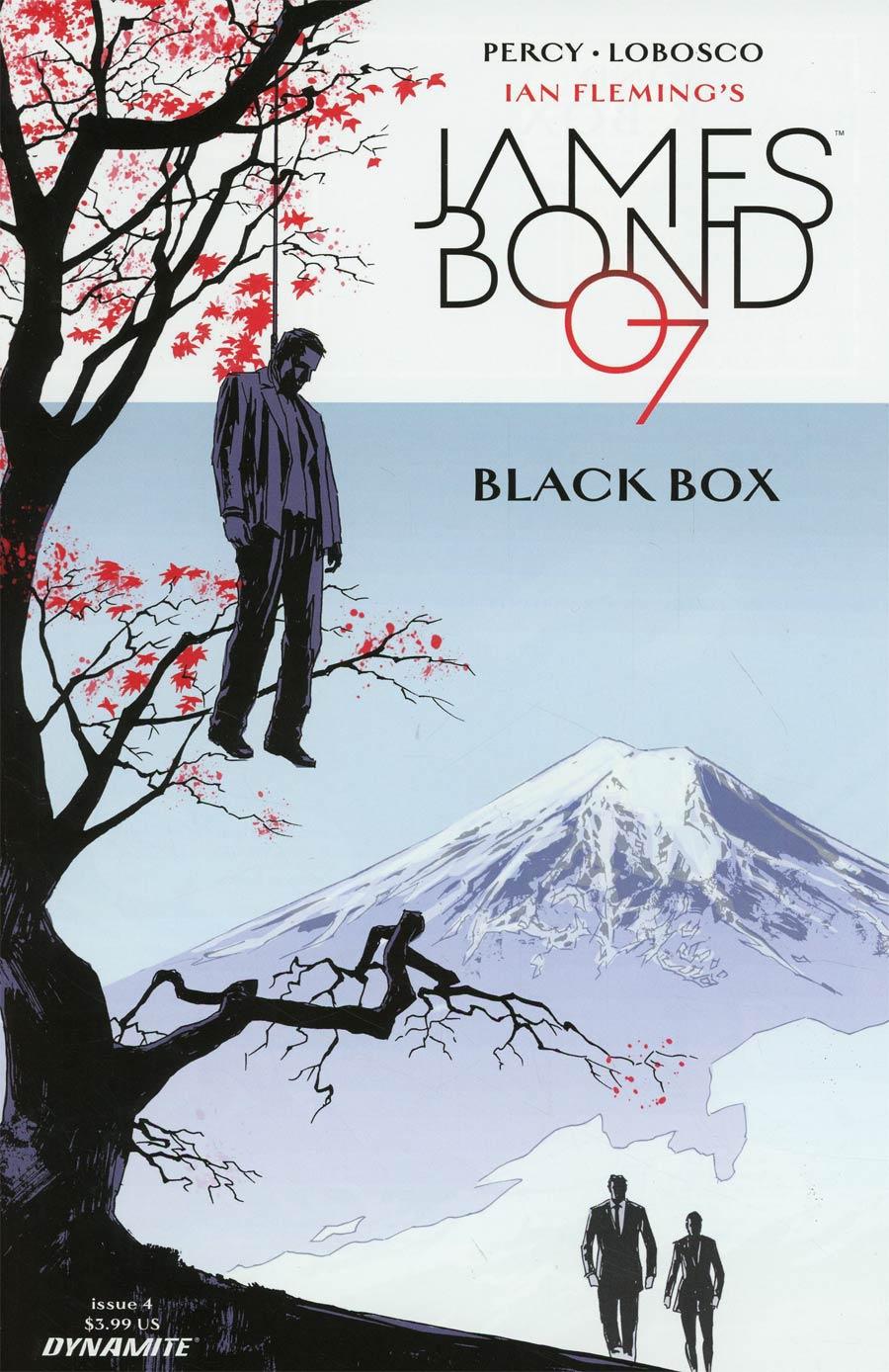 James Bond Vol 2 #4 Cover A Regular Dominic Reardon Cover