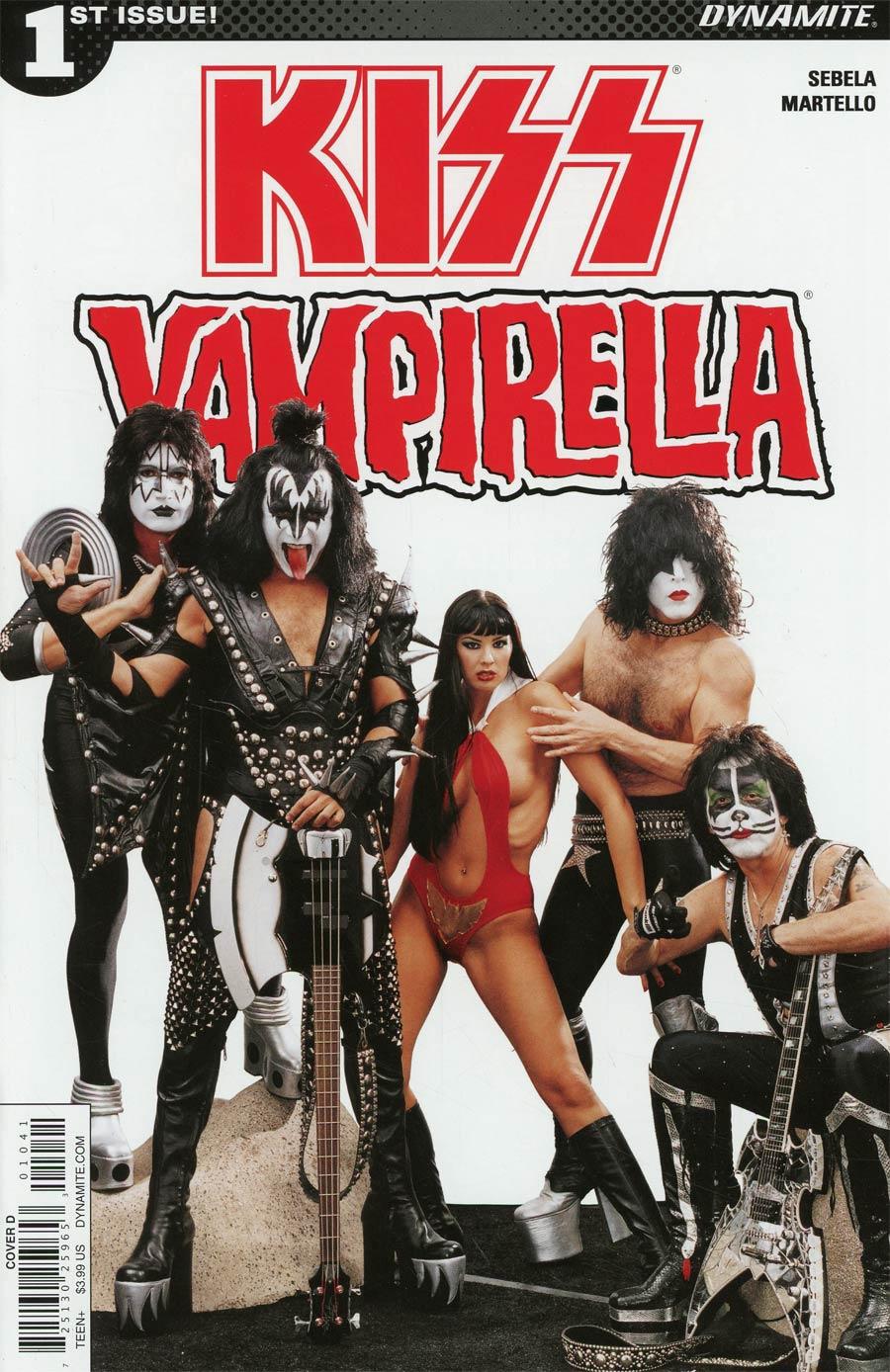 KISS Vampirella #1 Cover D Variant Photo Cover