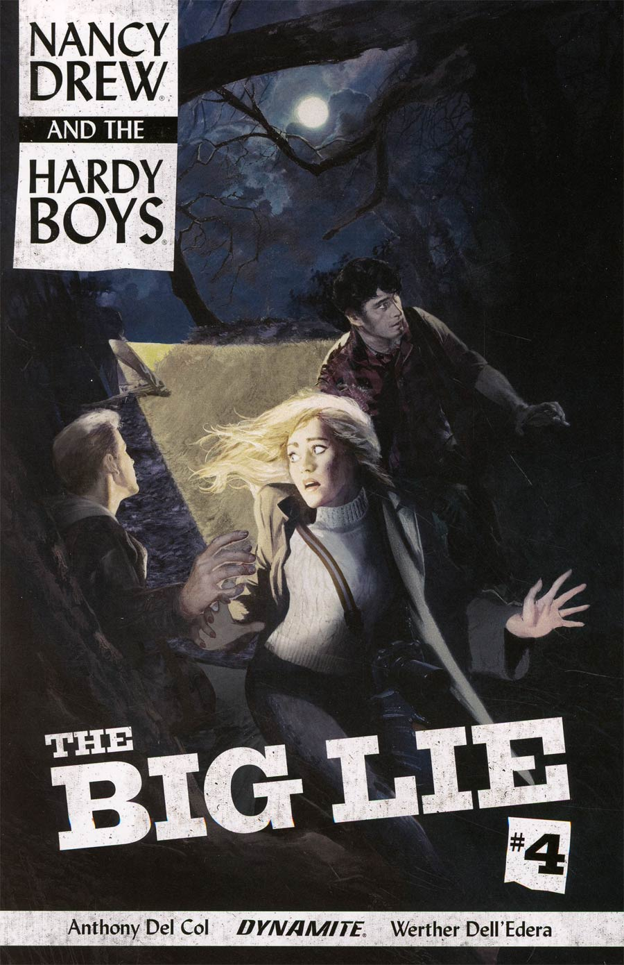 Nancy Drew And The Hardy Boys The Big Lie #4 Cover A Regular Fay Dalton Cover