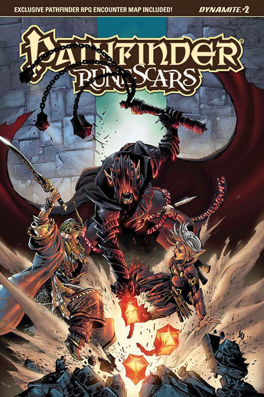Pathfinder Runescars #2 Cover A Regular Jonathan Lau Cover