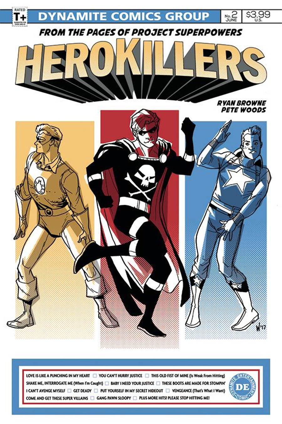 Project Superpowers Hero Killers #2 Cover A Regular Pete Woods Cover