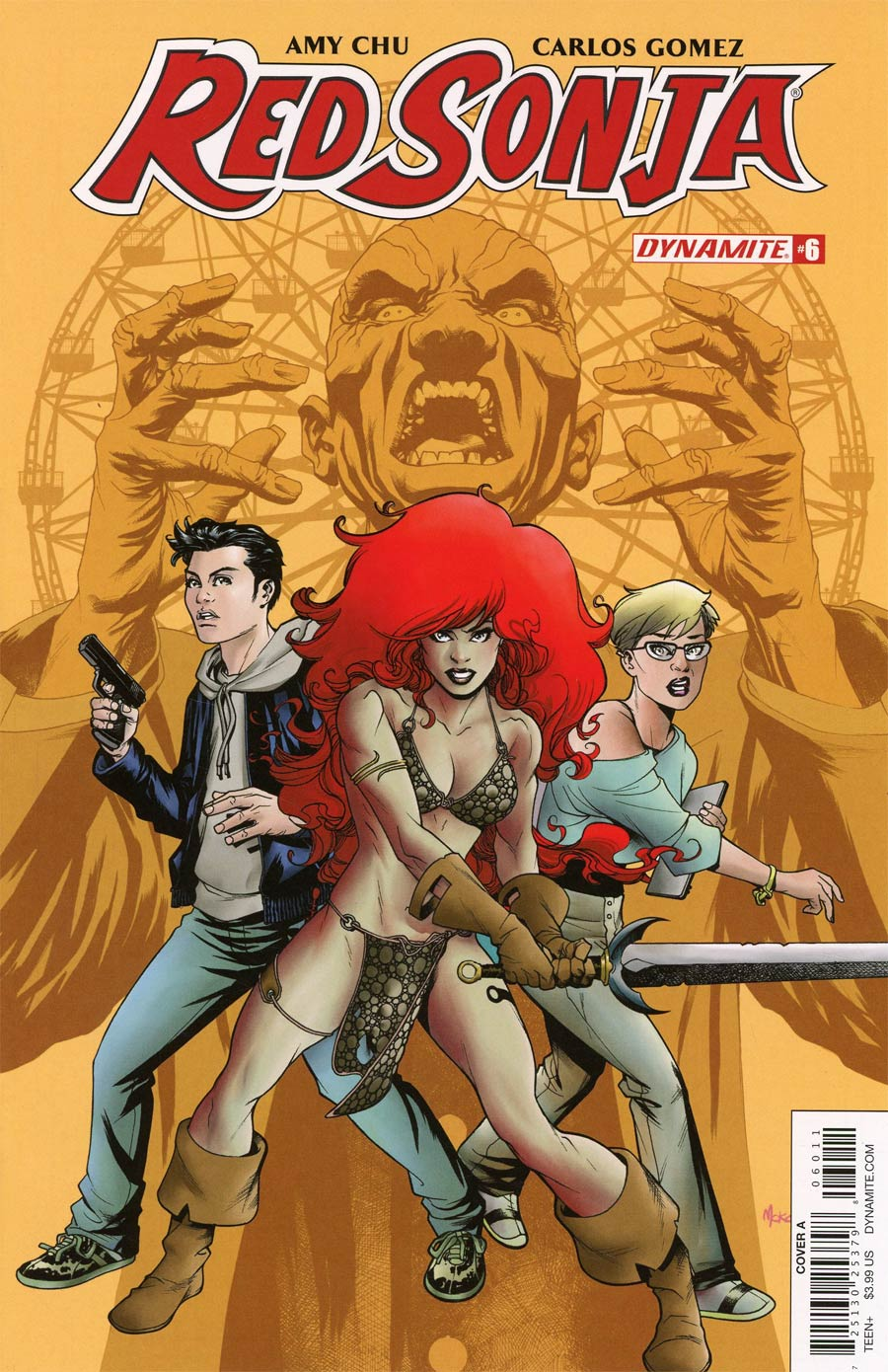 Red Sonja Vol 7 #6 Cover A Regular Mike McKone Cover