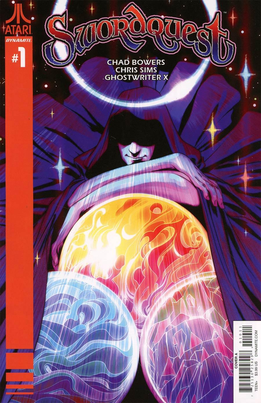 Swordquest #1 Cover A Regular Goni Montes Cover