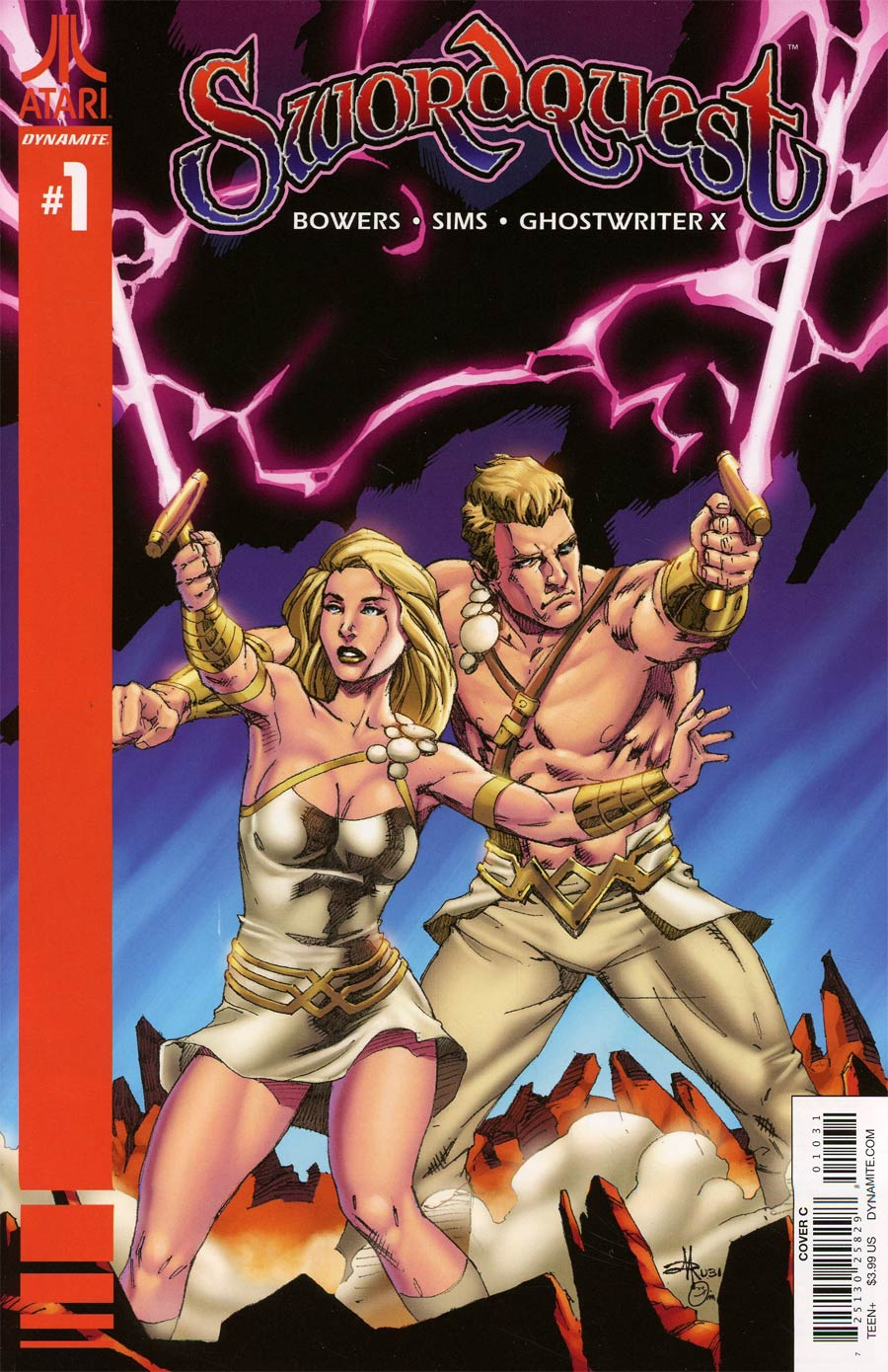 Swordquest #1 Cover C Variant Mel Rubi Cover