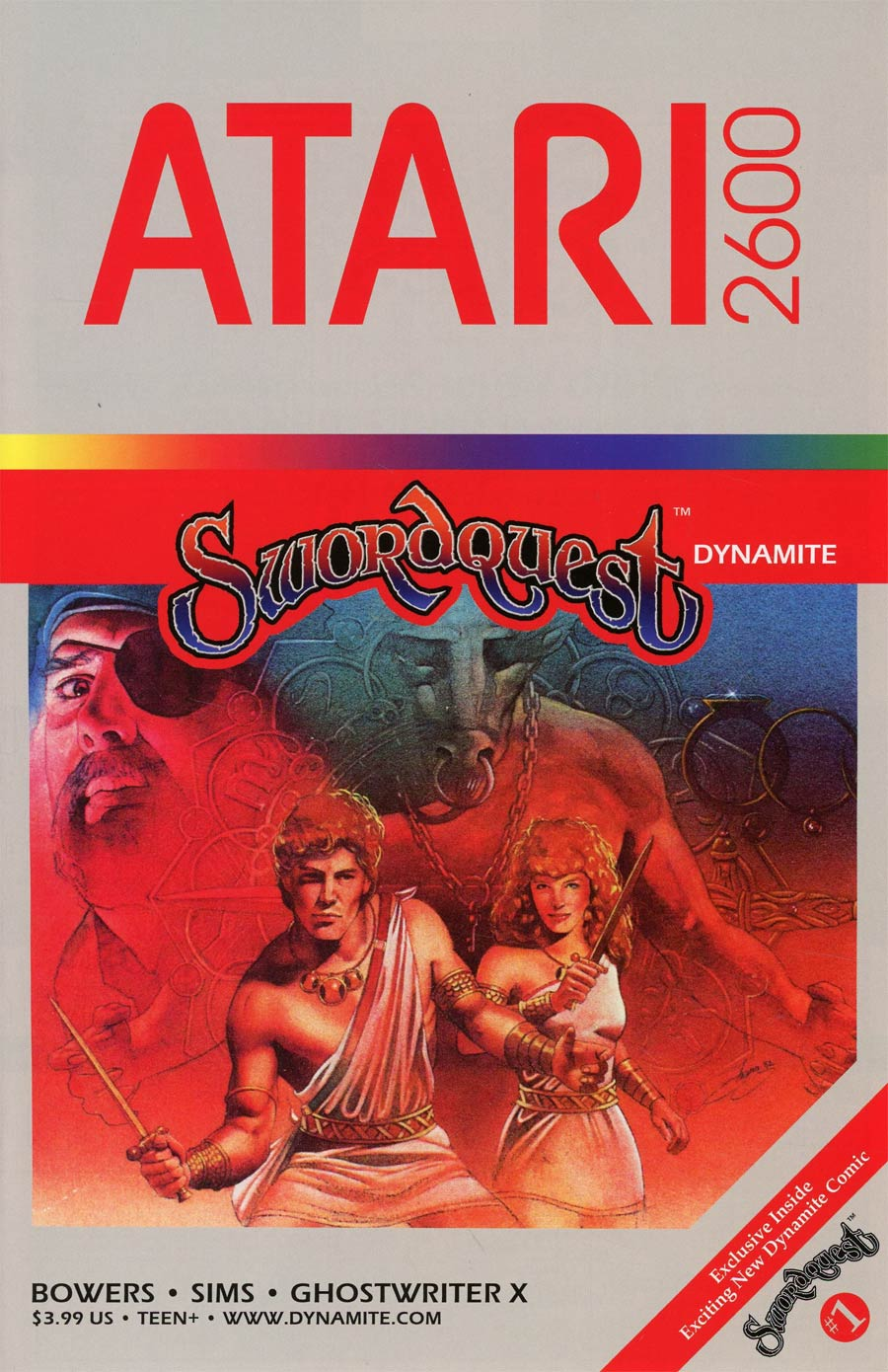 Swordquest #1 Cover D Variant Classic Game Art Cover