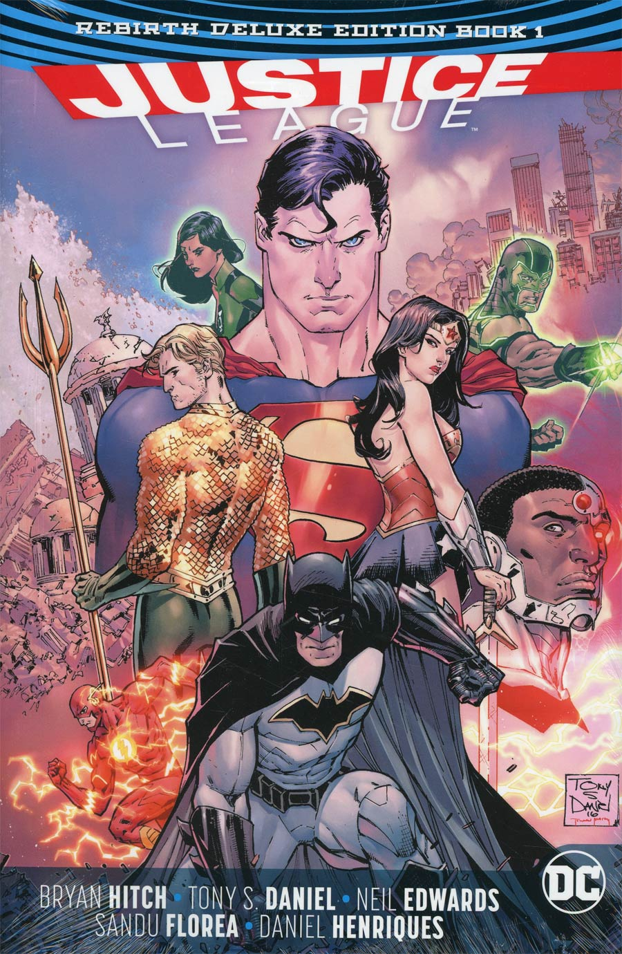 Justice League Rebirth Deluxe Edition Book 1 HC