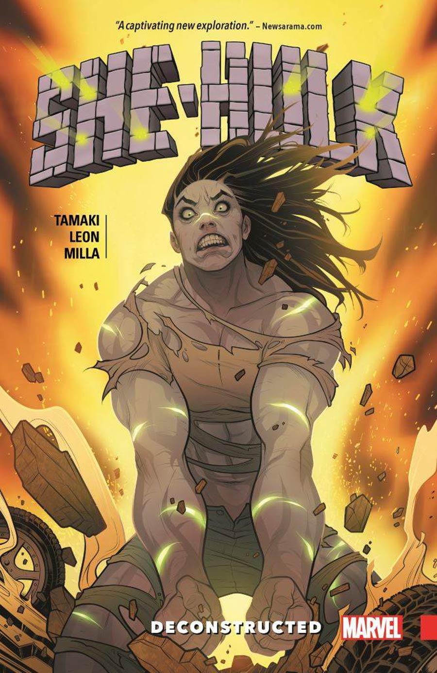 She-Hulk (2016) Vol 1 Deconstructed TP