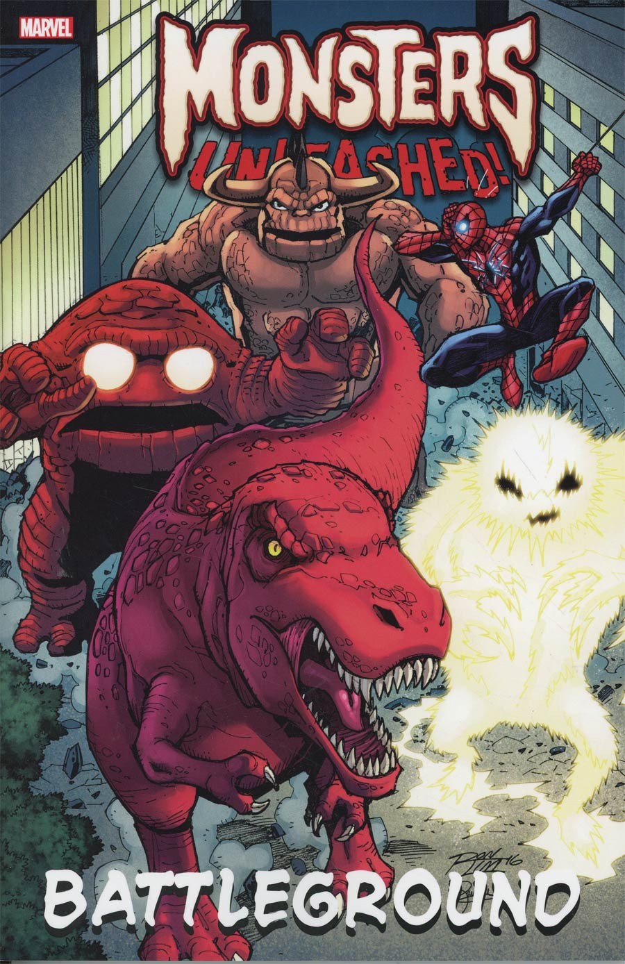 Monsters Unleashed Battleground TP
