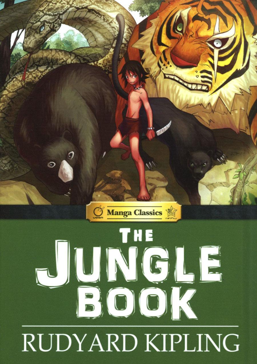 Manga Classics Jungle Book HC