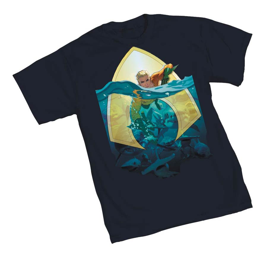 Aquaman Sea King T-Shirt Large