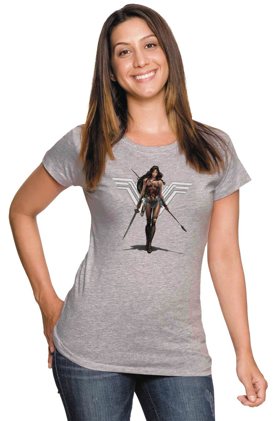 Wonder Woman Amazon Womens T-Shirt Large