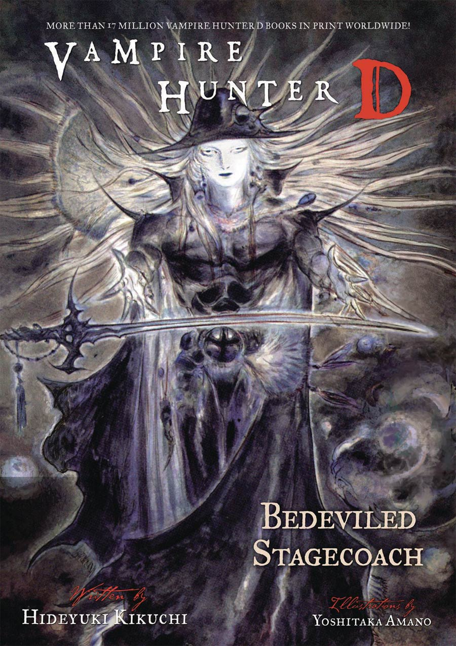 Vampire Hunter D Novel Vol 26 Bedeviled Stagecoach TP