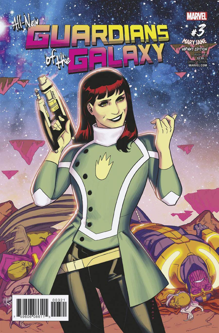 All-New Guardians Of The Galaxy #3 Cover B Variant Kris Anka Mary Jane Cover