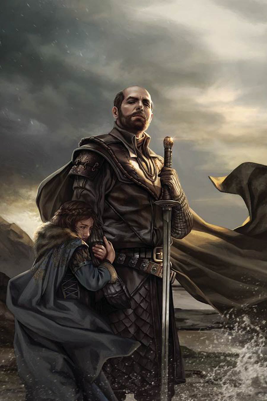 Game Of Thrones Clash Of Kings #1 Cover G Incentive Magali Villeneuve Virgin Cover