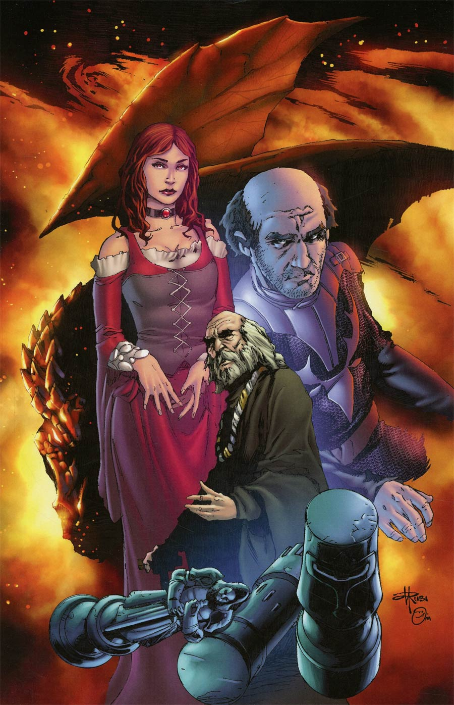 Game Of Thrones Clash Of Kings #1 Cover I Incentive Mel Rubi Virgin Cover