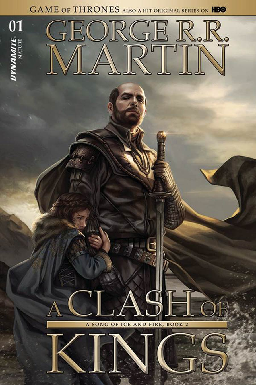 Game Of Thrones Clash Of Kings #1 Cover J Incentive Signed By George RR Martin