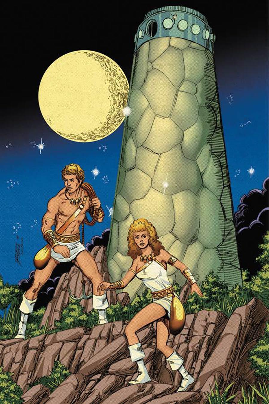 Swordquest #1 Cover H Incentive George Perez Virgin Cover