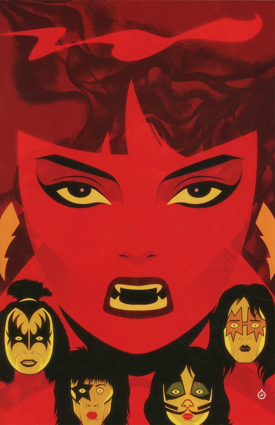 KISS Vampirella #1 Cover I Incentive Juan Doe Virgin Cover