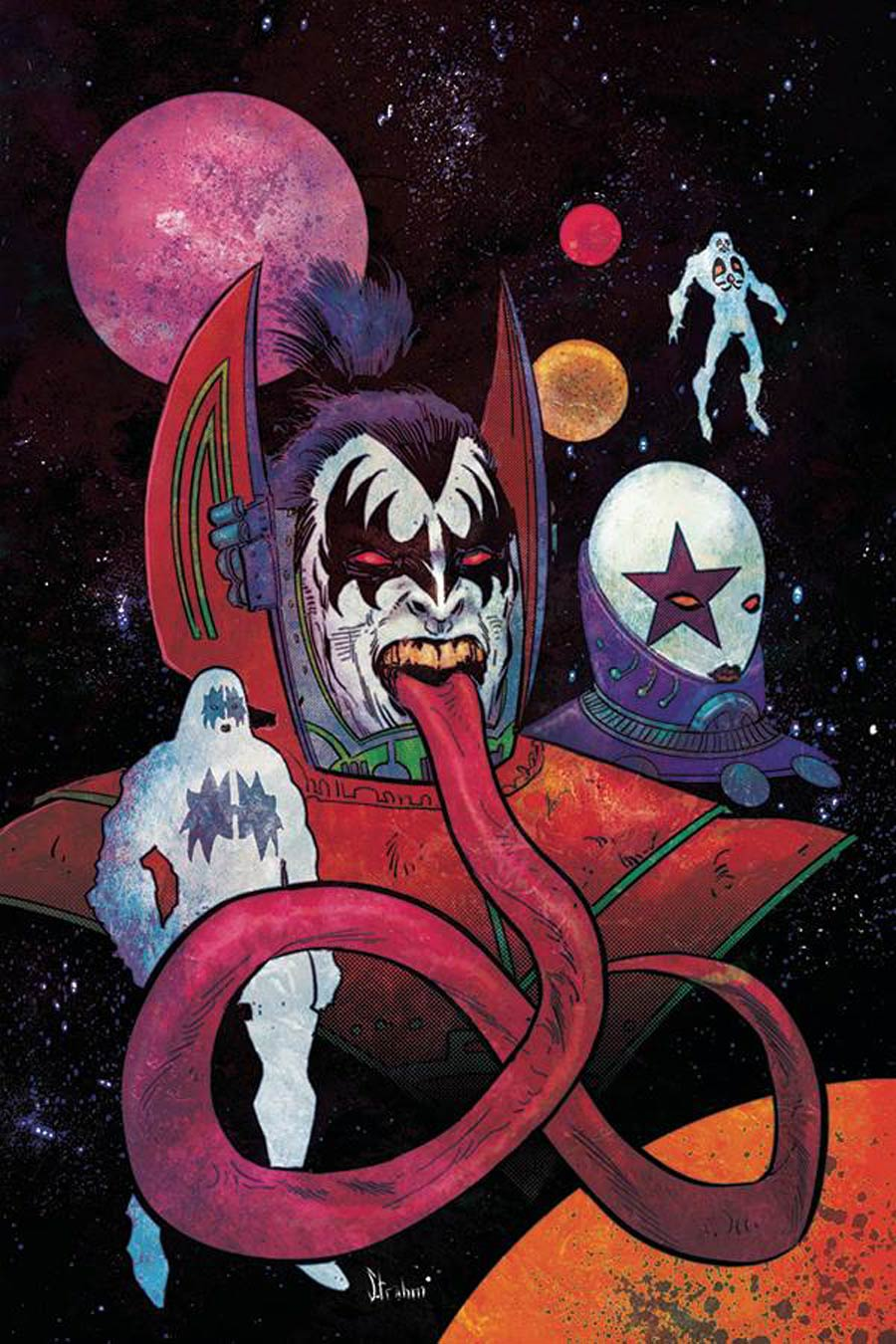 KISS Vol 3 #9 Cover D Incentive Kyle Strahm Virgin Cover