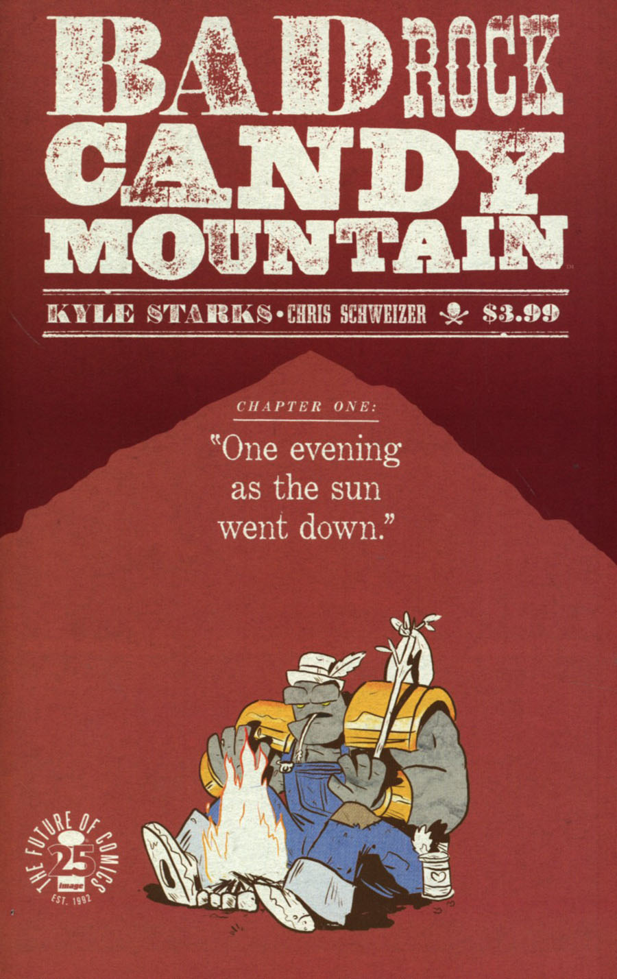 Rock Candy Mountain #1 Cover B Variant Kyler Starks April Fools Cover