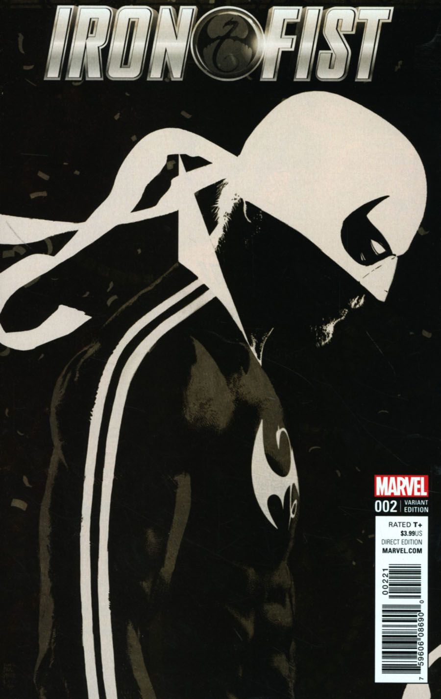 Iron Fist Vol 5 #2 Cover B Incentive Tim Bradstreet Variant Cover