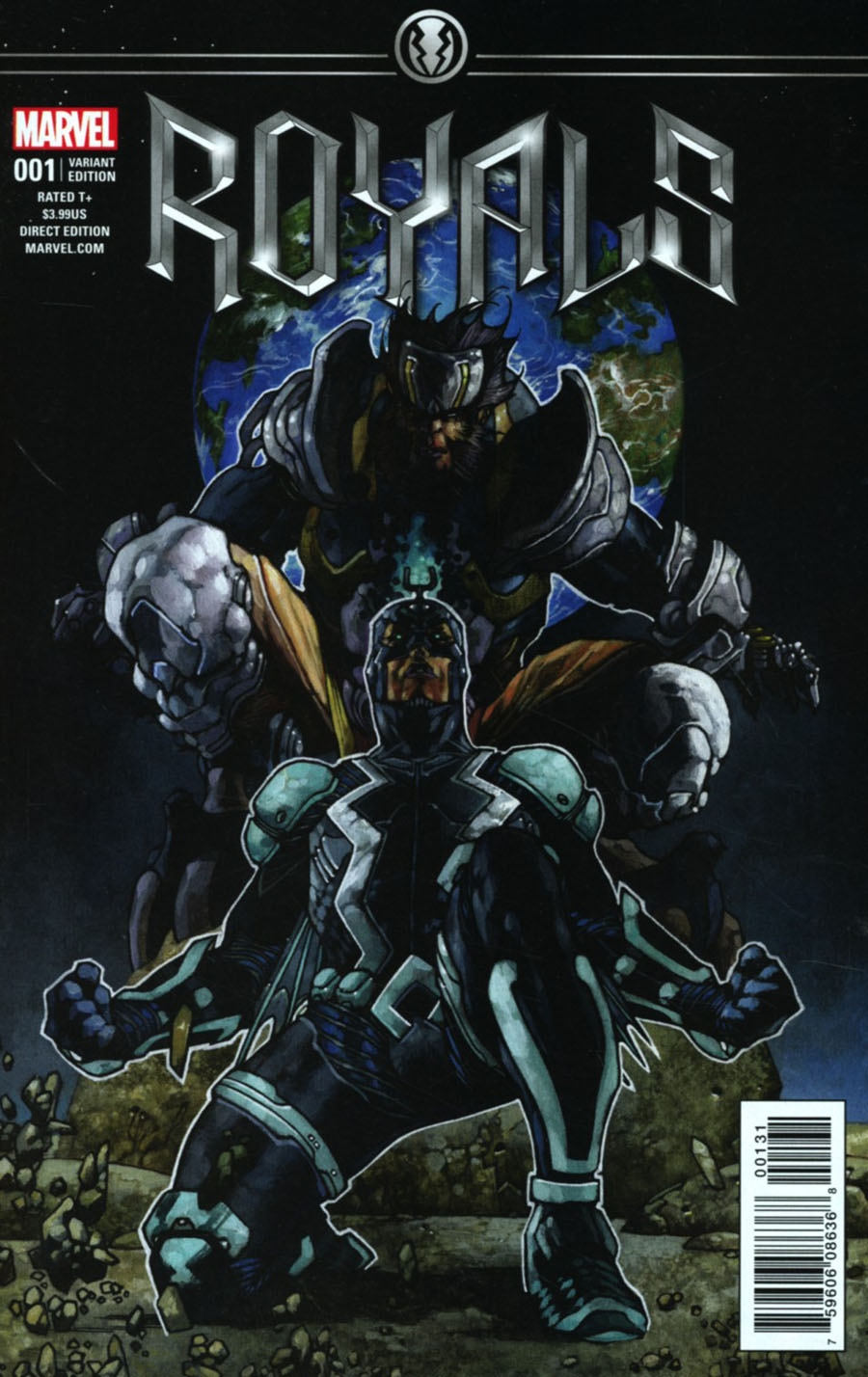 Royals #1 Cover G Incentive Simone Bianchi Variant Cover