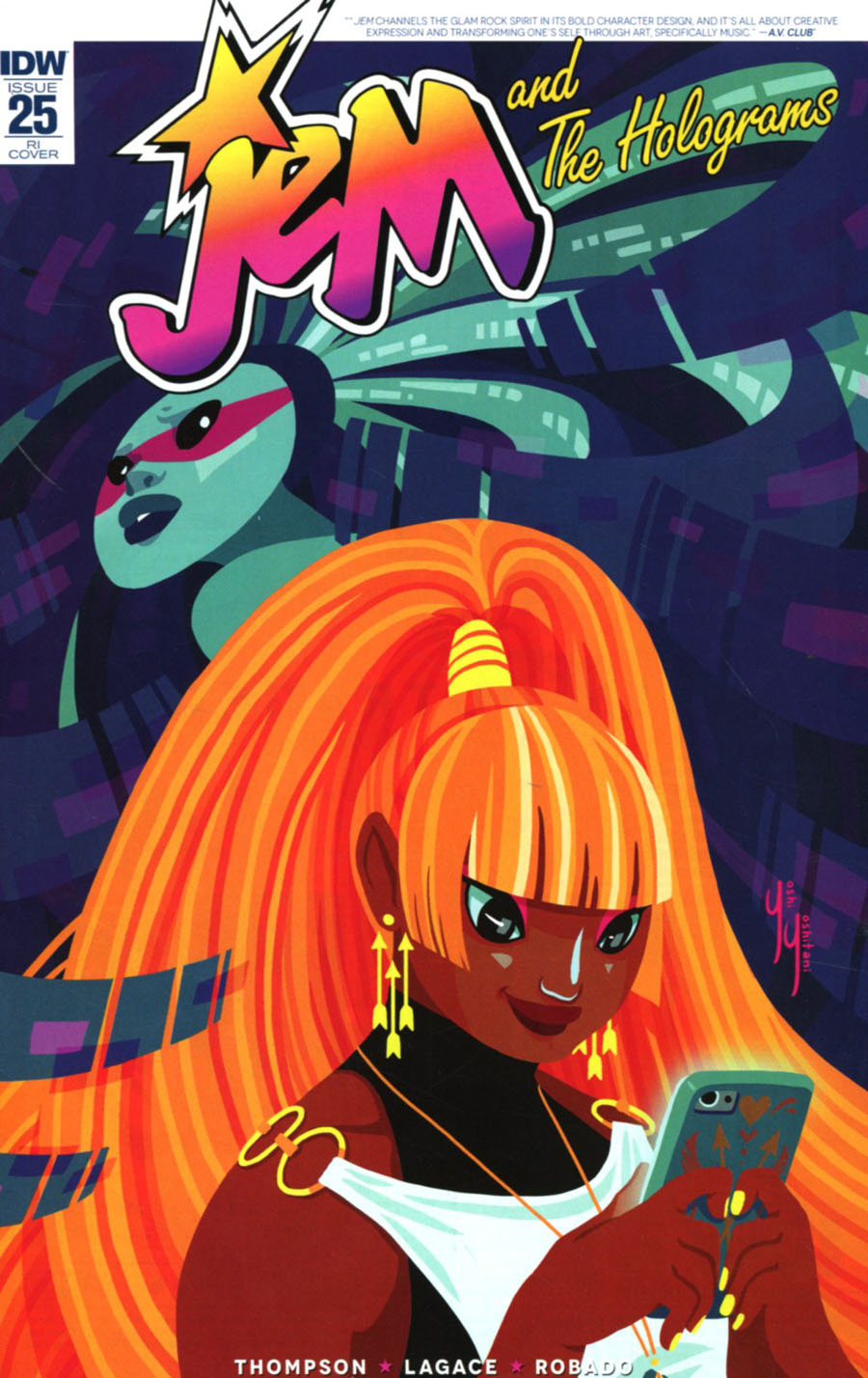 Jem And The Holograms #25 Cover C Incentive Yoshi Yoshitani Variant Cover