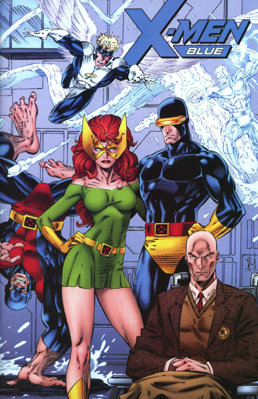 X-Men Blue #1 Cover H Incentive Jim Lee Remastered Variant Cover (Resurrxion Tie-In)
