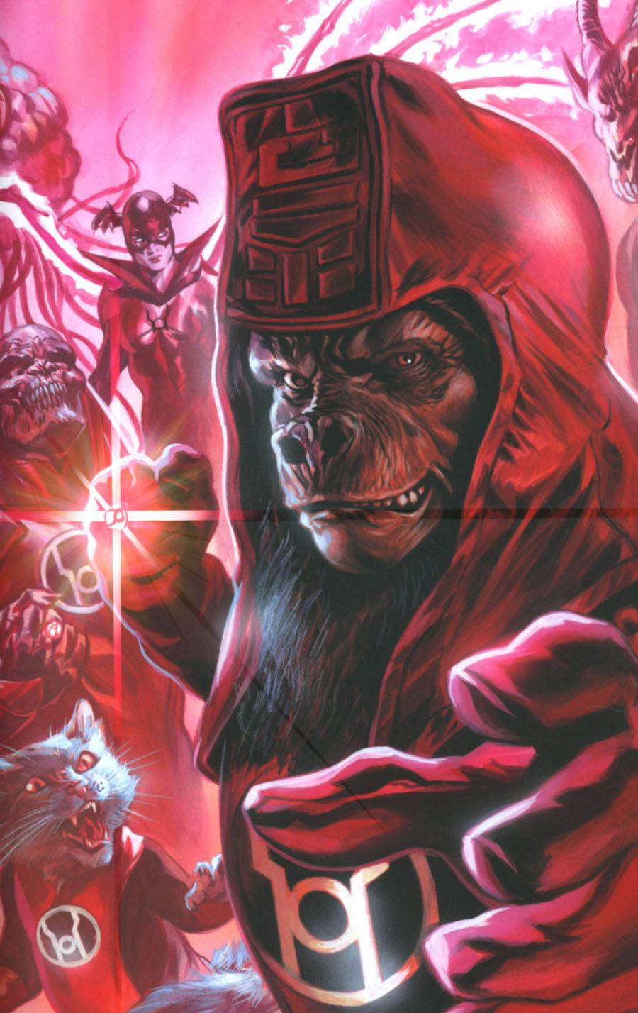 Planet Of The Apes Green Lantern #3 Cover E Incentive Felipe Massafera Spectrum Virgin Variant Cover