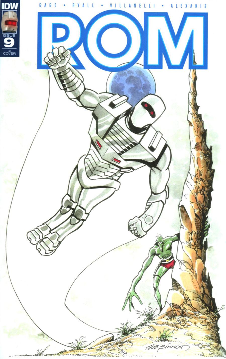 ROM Vol 2 #9 Cover E Incentive Joe Sinnott Variant Cover
