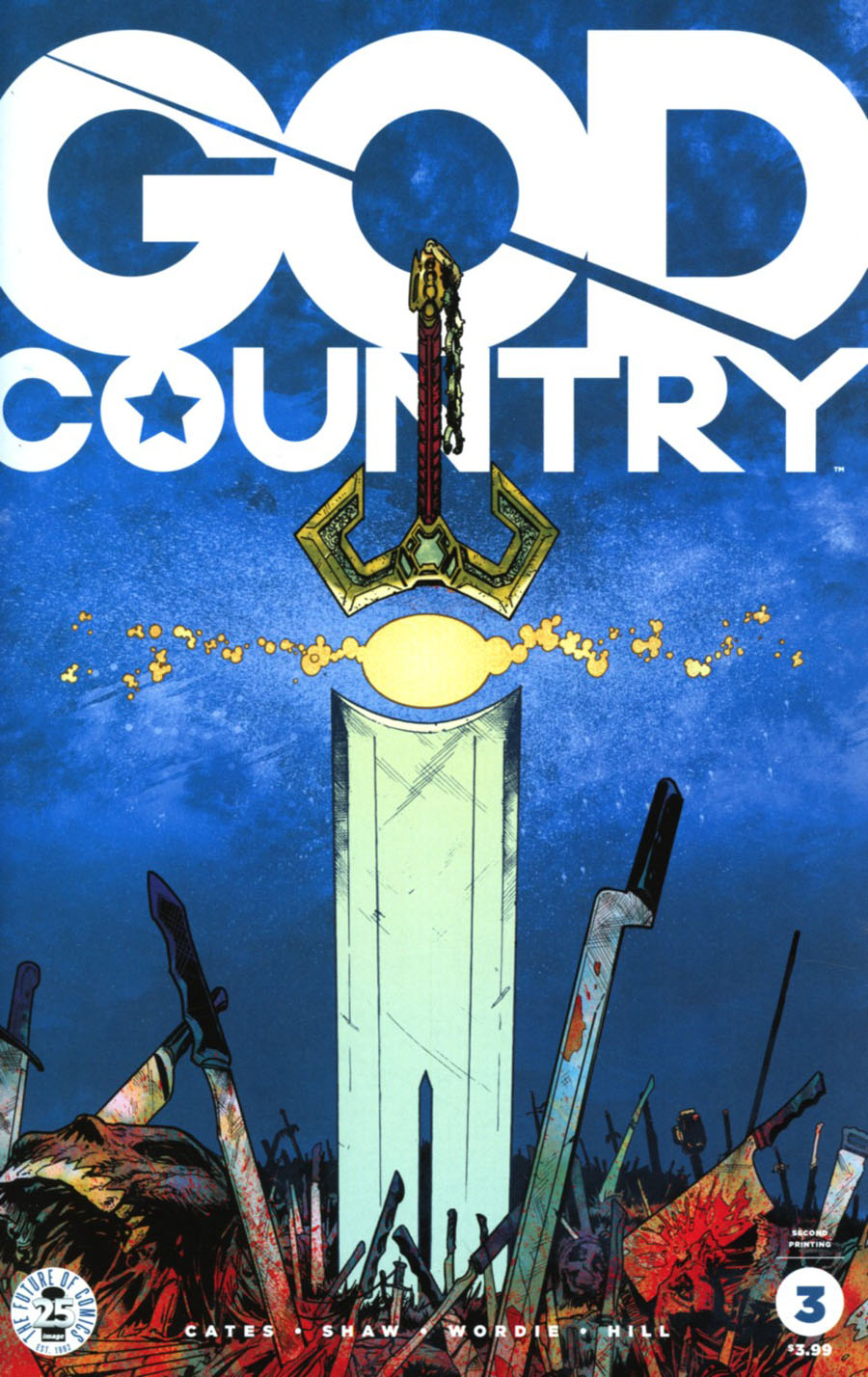 God Country #3 Cover C 2nd Ptg Geoff Shaw Variant Cover