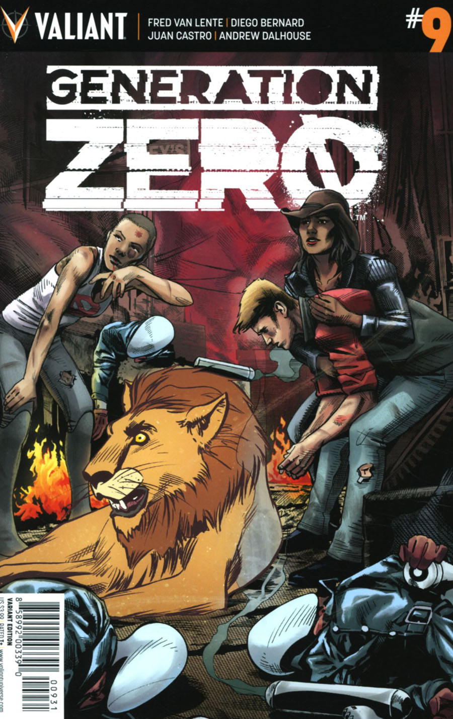Generation Zero #9 Cover C Incentive Stephen Mooney Variant Cover