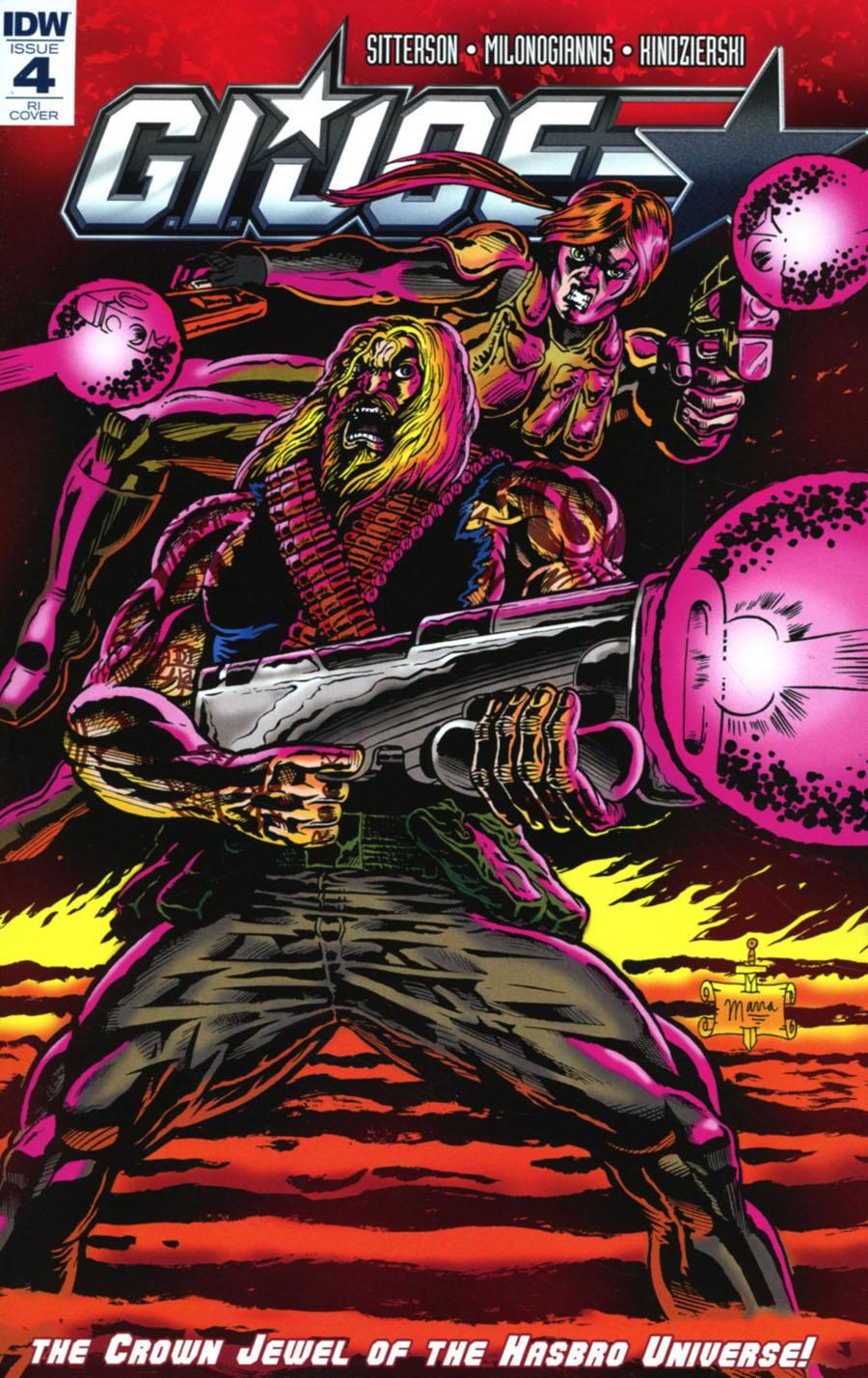 GI Joe Vol 8 #4 Cover D Incentive Ben Marra Variant Cover